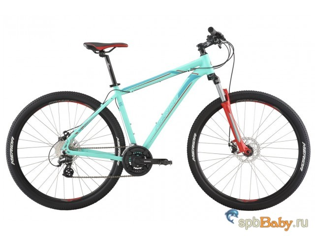 "Горный велосипед Merida Big.Nine 15-MD (2019) Рама 19"" MattBlue/Blue/Red"