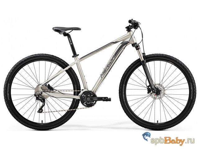 Велосипед Merida Big Nine 80-D MattTitan (Black/Silver) 2019 XXL(22')