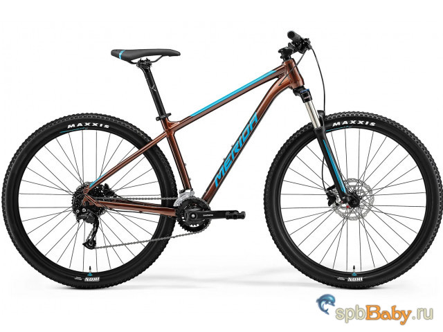 Горный велосипед Merida Big.Nine 100 2x Рама:XL(20 ) Bronze/Blue