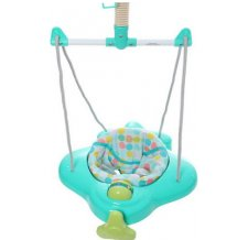 Прыгунки Baby Care Aero Viridian Blue